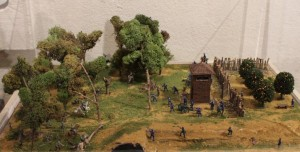 Scale Model of Battle of Fort Myers