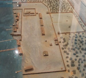 Scale Model of Fort Viewed from West