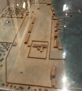Scale Model of the Fort Viewed from East