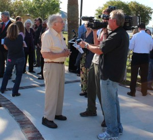 David BlackBeing Interviewed at Dedication