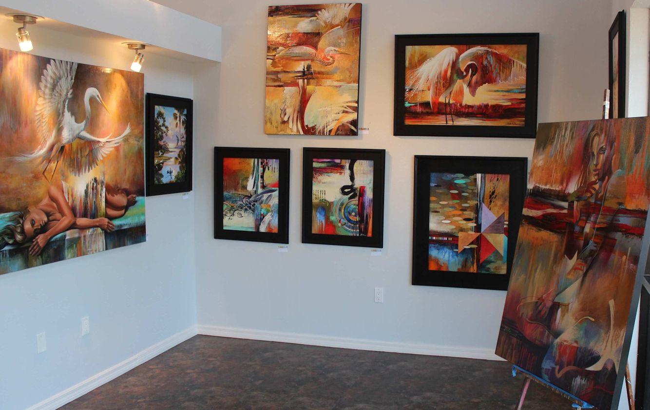 Art2d gallery custom art studio for High end art galleries