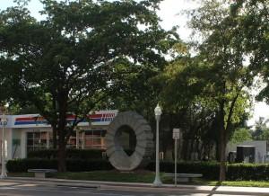 Sun Gate from Monroe Street