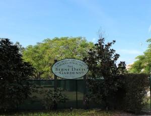 The Berne Davis Gardens