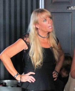 Kathy at Opening 01