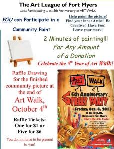 5th Anniversary Art Walk - Community Paint (2)