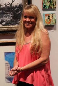 Kathy at Rauschenberg Gallery