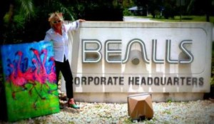 Leoma at Bealls Headquarters Feb 2013