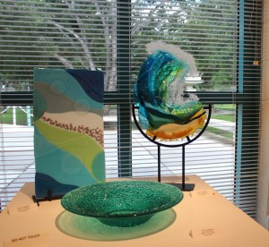 Lorraine Capps' Wave Rider and Other Fused Glass