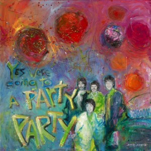 Beatles In My Life - Party Party Painting