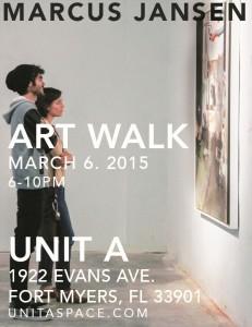 Unit A Art Walk March