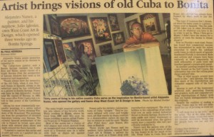 Artist Brings Visions of Cuba