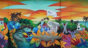 My Beautiful Town Mural May 22 2014 Detail 2