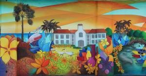 My Beautiful Town Mural May 22 2014 Detail 4