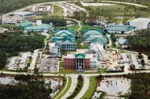 Aerial of FGCU Campus 6