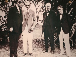 Hoover, Ford and Edison