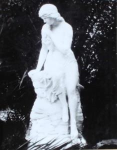 Lorelei in Garden of Evelyn Rhea (2)