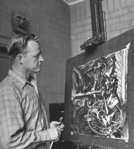 Millard_Sheets-At_Easel-1945_large