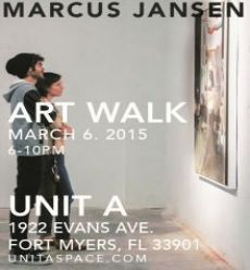 Unit A Art Walk March Promo 7