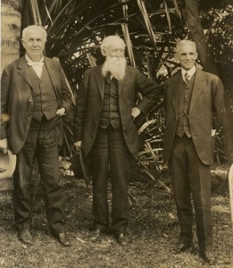 Edison, Burroughs and Ford