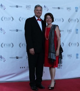 Mayor Henderson and Wife on Red Carpet 02