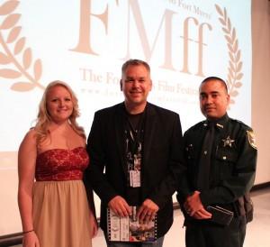 Eric Raddatz with Kaitlyn and Deputy Z A