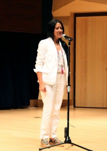 Leila Mesdaghi on Stage B