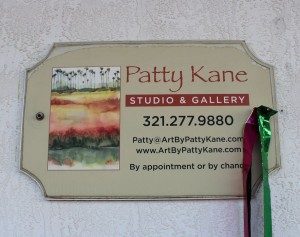 Patty Kane Plaque
