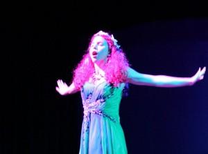 Holly Hagan is the Siren 11