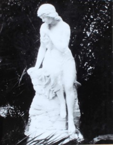 Lorelei in Garden of Evelyn Rhea (2)