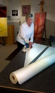 Diane Whiting Cutting Canvas 1
