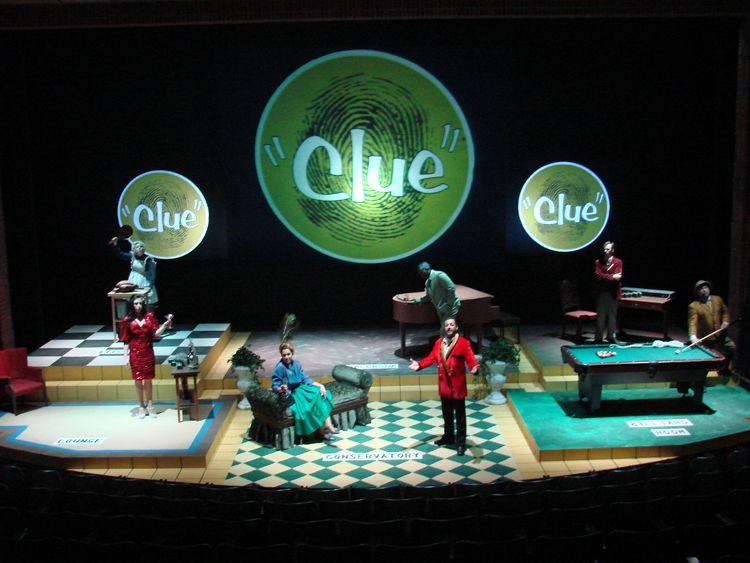 Clue The Musical Galen Blum Peter DePietro
