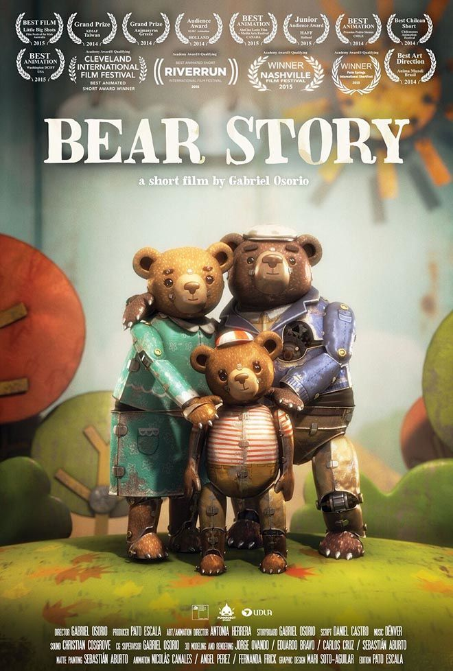 Last Night The Bonita Springs International Film Festival Announced Its 2017 Winners And Award For Best Animated Short Was Bear Story