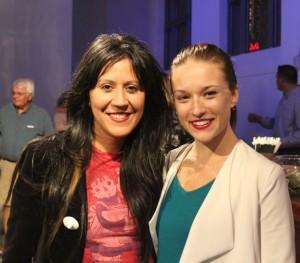 Leila Mesdaghi and Katarina Danks 04
