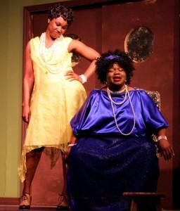 Ma and Dussie Mae B