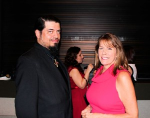 Cesar Aguilera and Shelley Porter