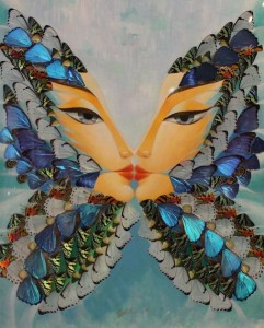 Butterfly Reflection A