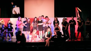 Cast of Heathers and Director Carmen Crussard 04L