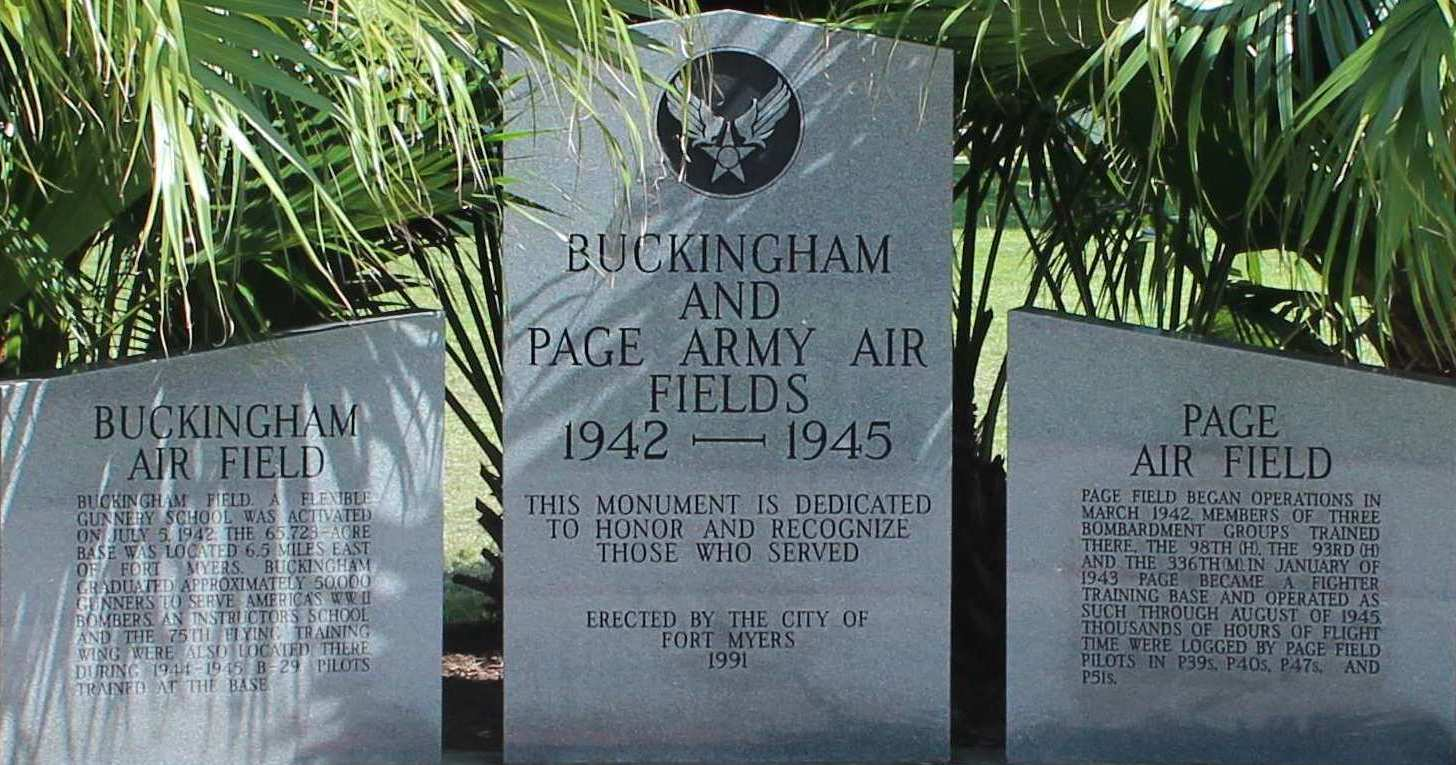 Buckingham & Page Army Airfields Memorial