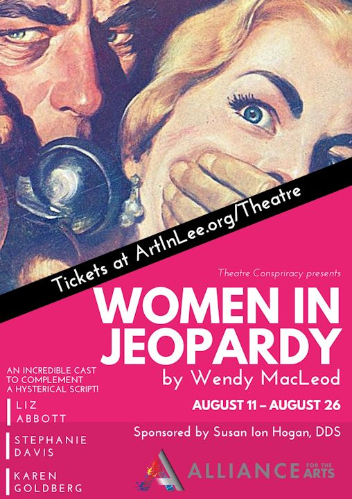 Abbott, Davis and Goldberg are women in jeopardy at Theatre Conspiracy