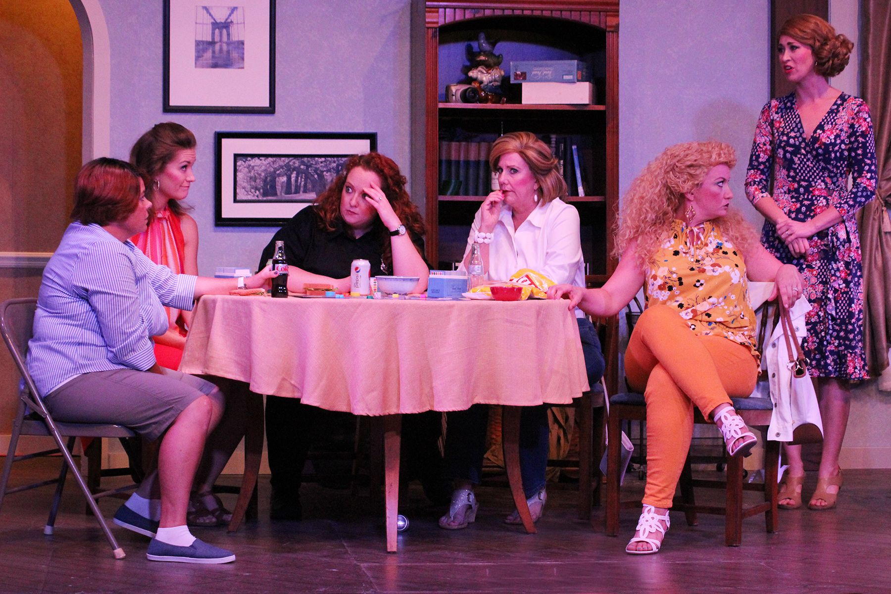 Men out, ladies in at Off Broadway's 'Odd Couple: Female Version'