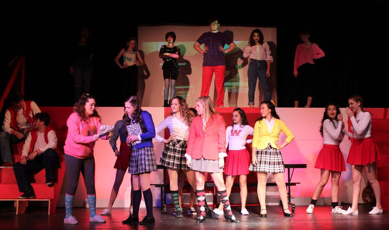 Spotlight on Westerberg High bully triumvirate, the three Heathers
