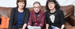 'RBG' doc filmmakers Betsy West and Julie Cohen in the frame