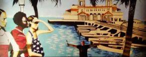Pleasure Pier mural